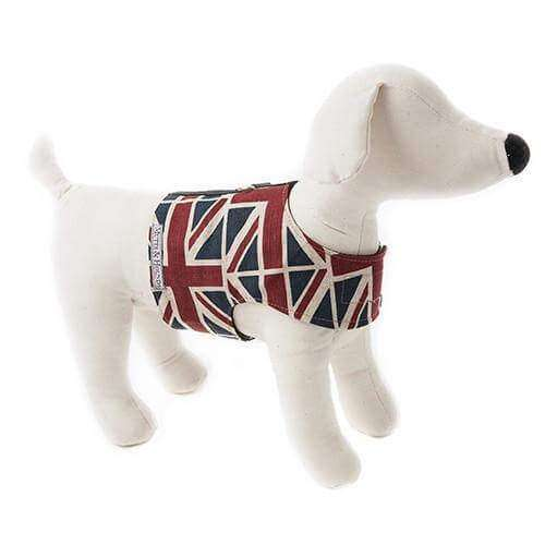 Cutest Harnesses for Cavalier King Charles Spaniels - Mutts and Hounds Union Jacks