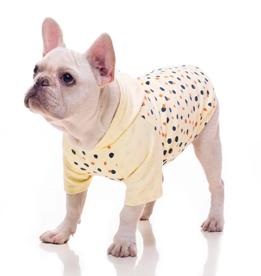 French Bulldog Polka Hoodie